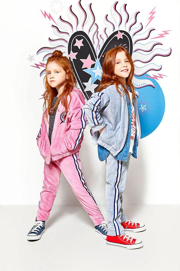 Ropa de abrigo para niñas moda invierno 2018.