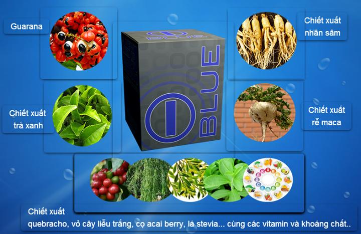 Thành phần của giảm cân IBLUE, thuốc giảm cân