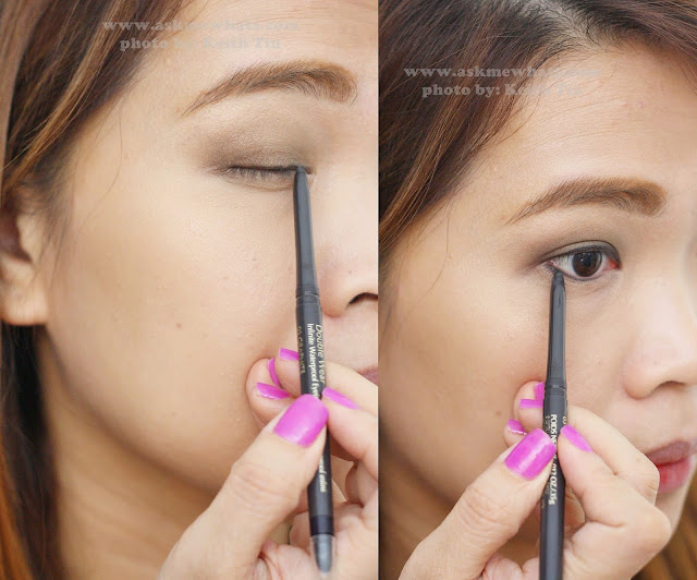 A photo of Estee Lauder Double wear Infinite Waterproof Eyeliner in Graphite