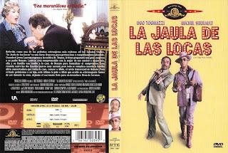 Carátula dvd: La jaula de las locas (Vicios pequeños)