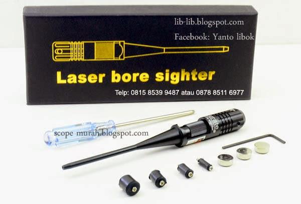 laserbore laser bore buat zeroing senapan