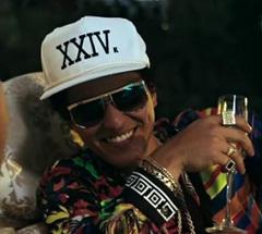 Bruno Mars lança clipe de 24K Magic