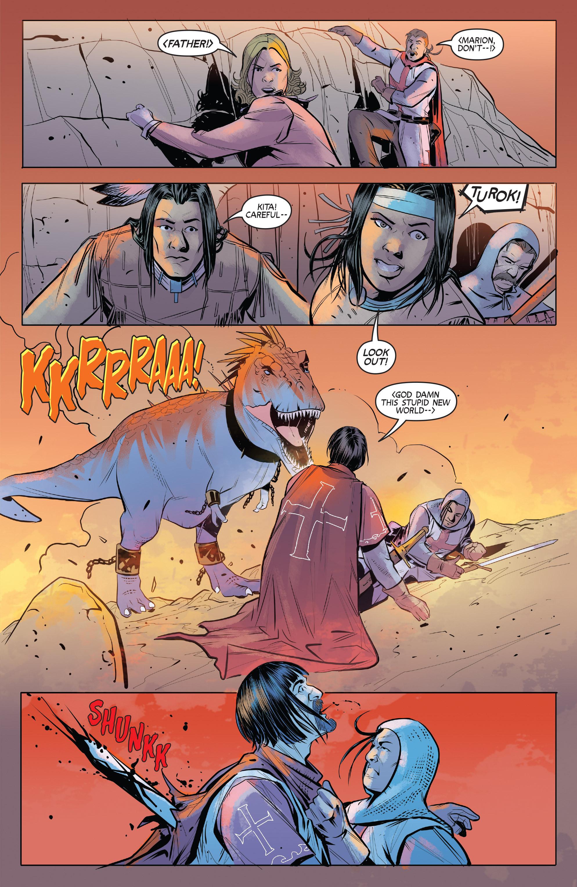 Read online Turok: Dinosaur Hunter (2014) comic -  Issue # _TPB 1 - 88