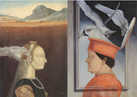 Gregorio Sabillón arte latinoamericano, renacimiento, Piero della Francesca Díptico del duque de Urbino