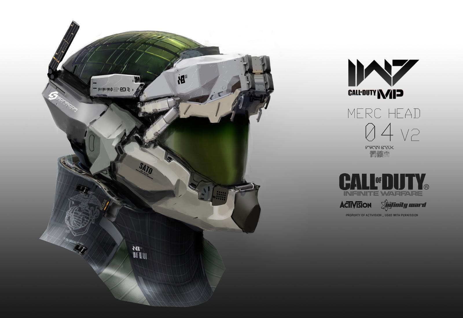 Aaron Beck Call Of Duty Infinite Warfare Concept Design