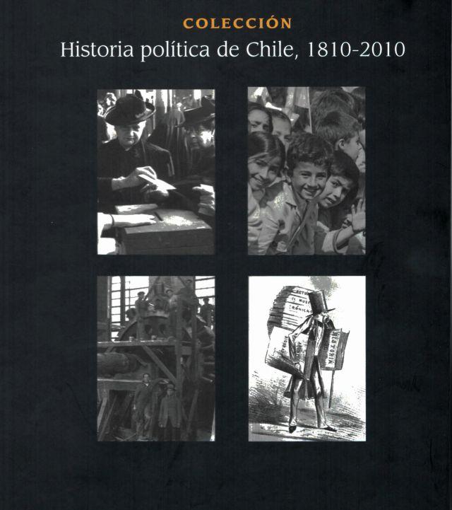 """4 tomos de """"historia política de Chile desde 1810 hasta 2010"""""""