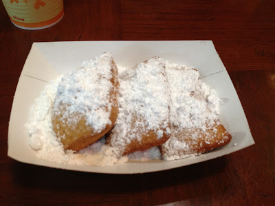 food allergy beignets
