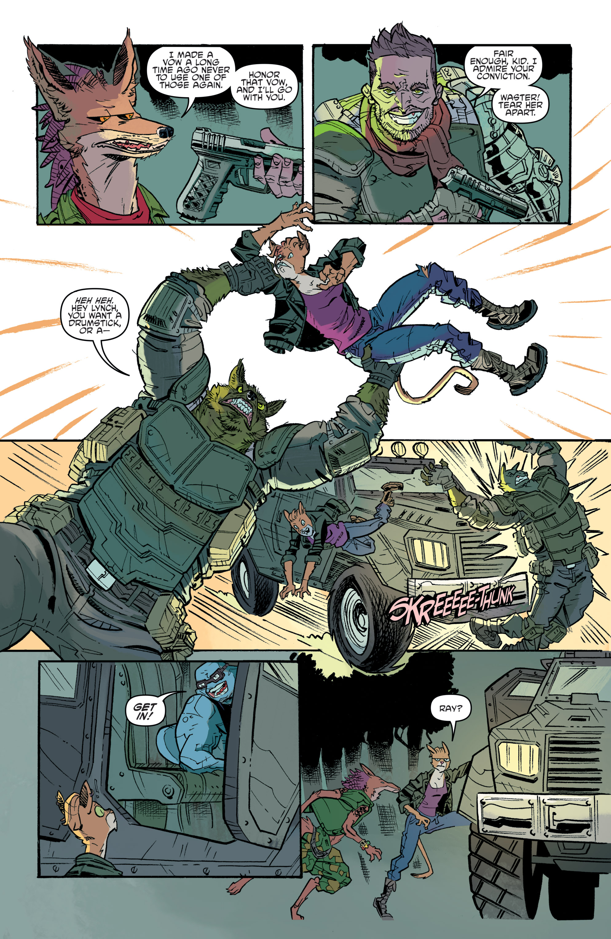 Read online Teenage Mutant Ninja Turtles Universe comic -  Issue #11 - 21