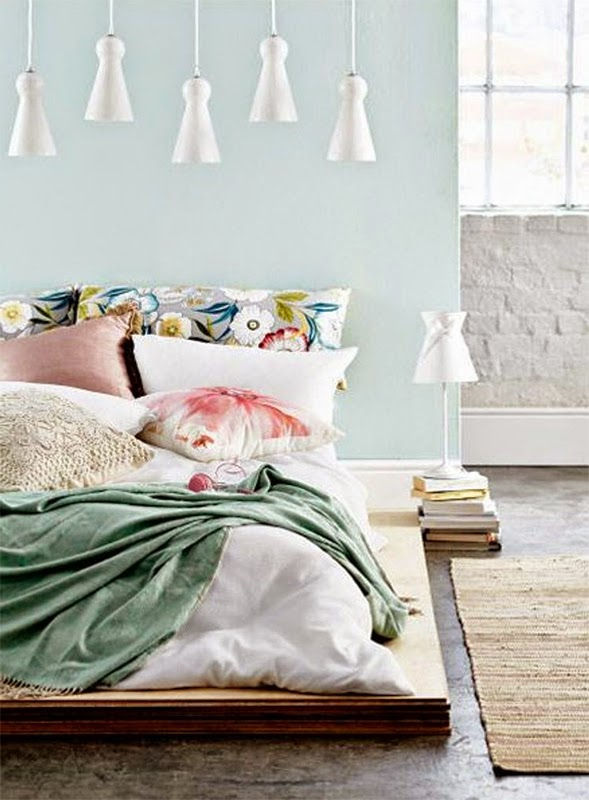 Couleurs pastels blog d co mydecolab for Chambre scandinave vert