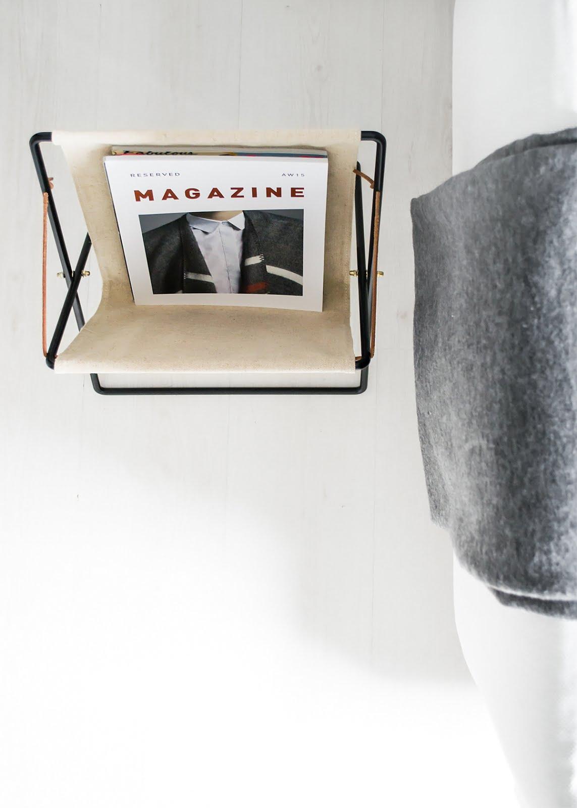 Ferm living, magazine holder, herman, tijdschriften houder, interior design, minimal, mister design