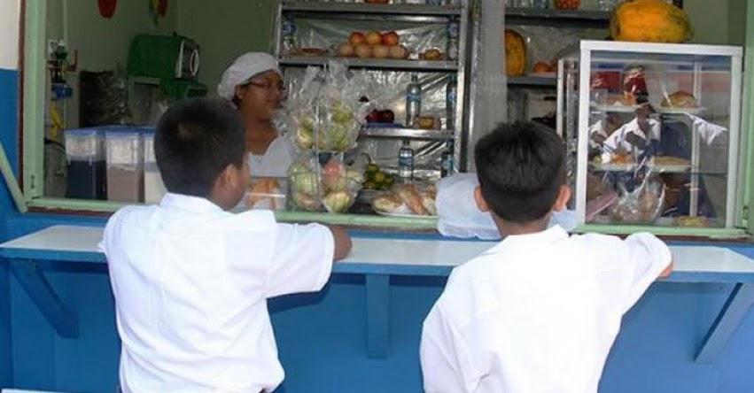 MINEDU, MINSA y Gobiernos Locales supervisarán la ejecución de lineamientos de quioscos saludables en colegios a nivel nacional