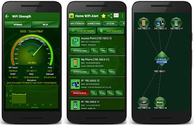تطبيق Home Wifi Alert للأندرويد, تطبيق Home Wifi Alert مدفوع للأندرويد