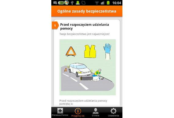 pierwsza pomoc - aplikacja mobilna