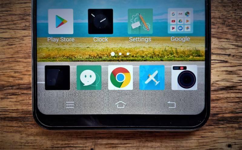 Vivo V9 On-Screen Navigation Keys
