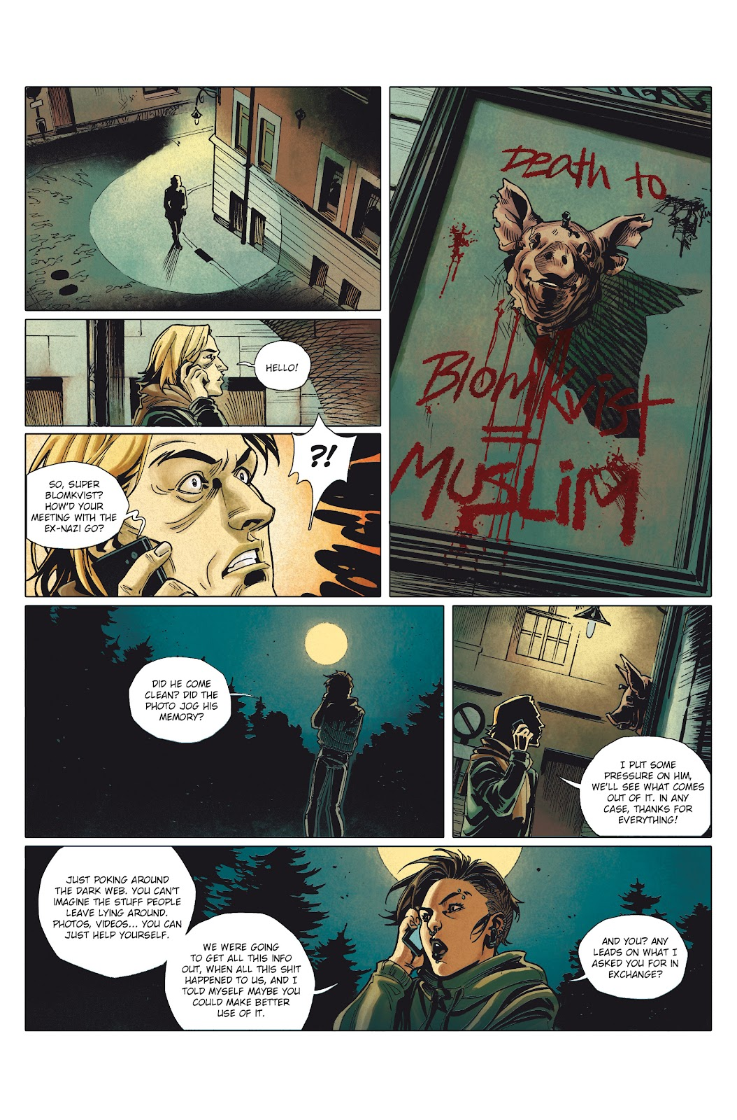 Read online Millennium: The Girl Who Danced With Death comic -  Issue #1 - 31