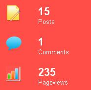 Nâng cấp tiện ích Thống kê blog - Update widget stats