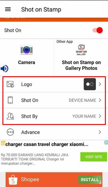 Tutorial Menampilkan Shot On Vivo V9 di Kamera Android (Watermark) 4