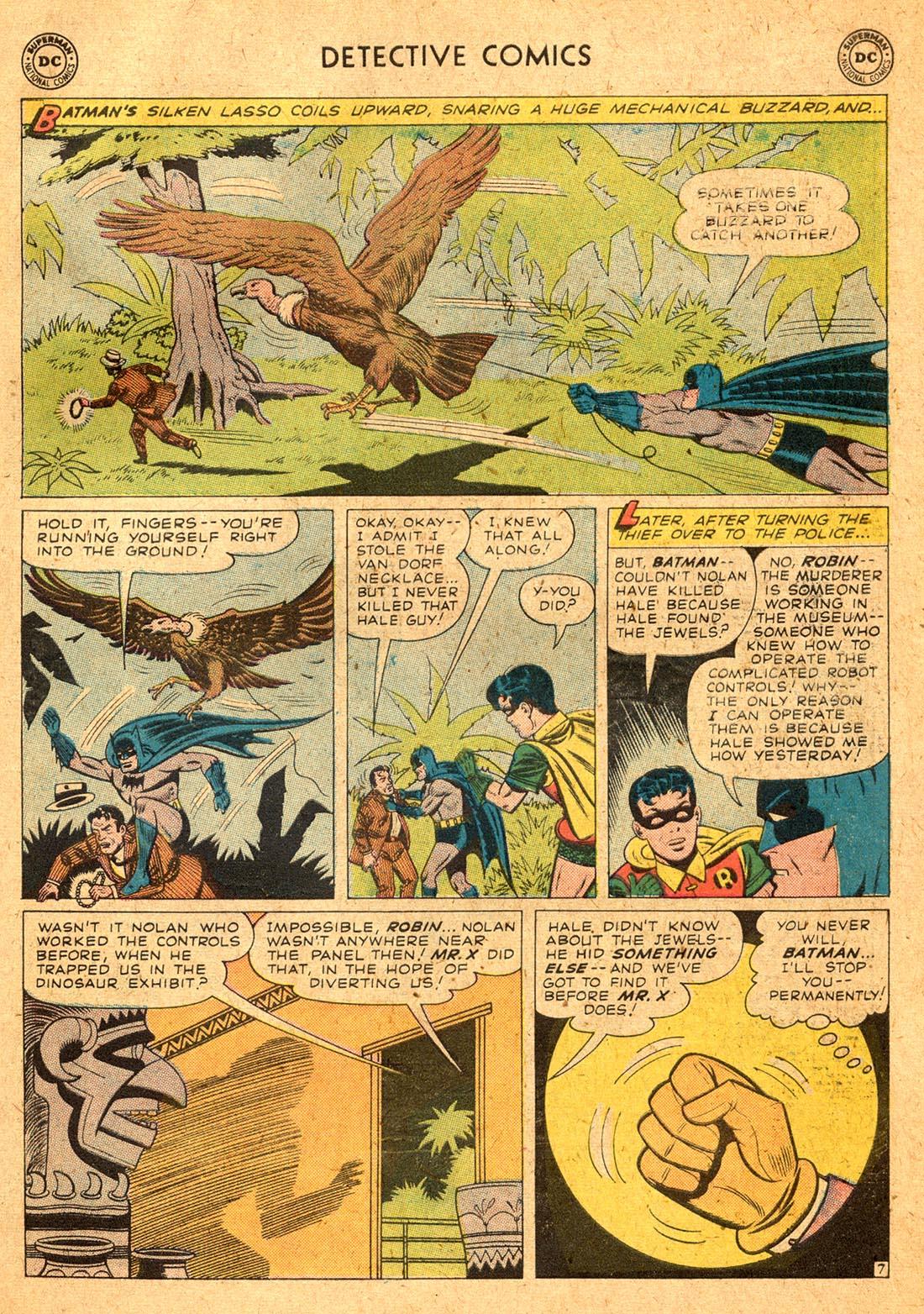 Read online Detective Comics (1937) comic -  Issue #255 - 9