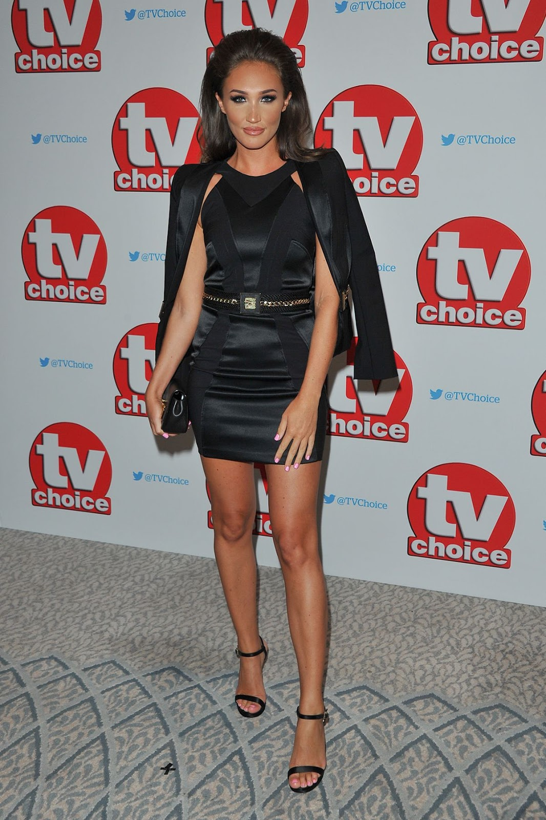HD Photos of Megan Mckenna at TV Choice Awards in London
