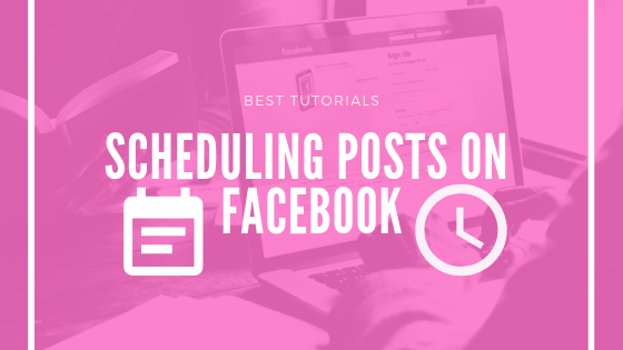Schedule Your Posts On Facebook<br/>