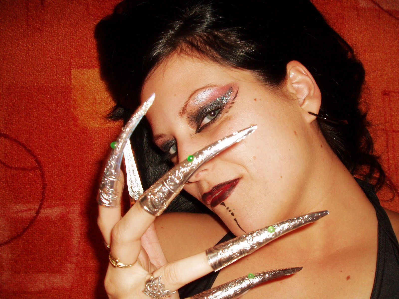 Nail art: Long nails designs