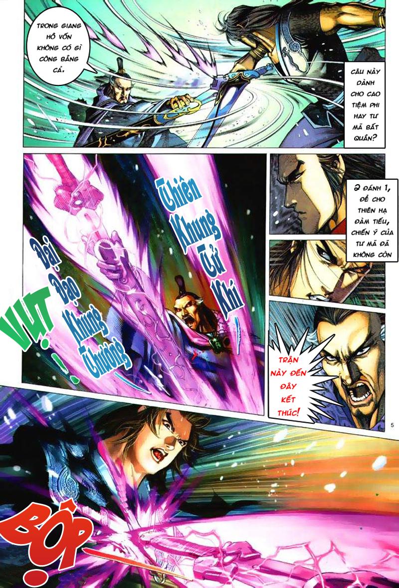 Anh hùng vô lệ Chap 6: Anh hùng hữu lệ trang 5