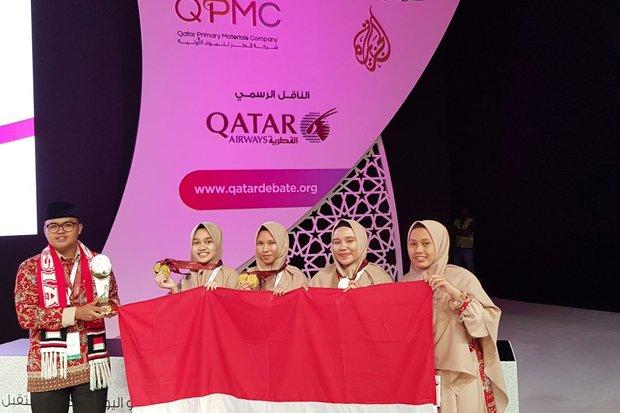 Alhamdulillah, Empat Santri Indonesia Juara Debat Internasional
