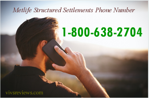 Metlife Structured Settlements Phone Number