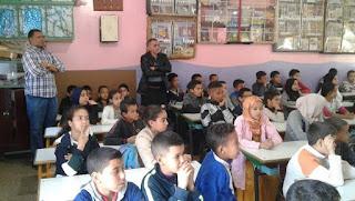أكادير : ولاية الأمن تنظم حملة تحسيسية حول العنف المدرسي بمدرسة الأطلس ايت الموذن