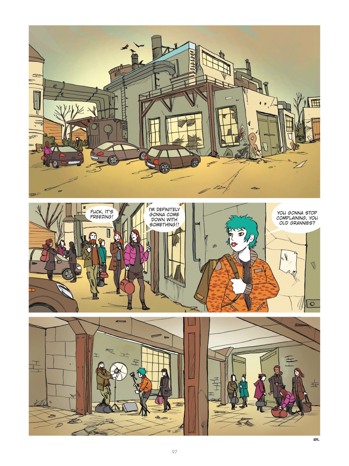 Read online Diary of A Femen comic -  Issue # TPB - 99