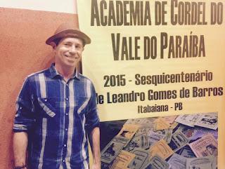 Cordelista de Campina Grande é empossado na Academia do Vale do Paraíba