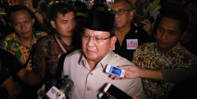 Berpasangan dengan Tokoh Sipil Ini, Prabowo Berpeluang Besar Kalahkan Jokowi