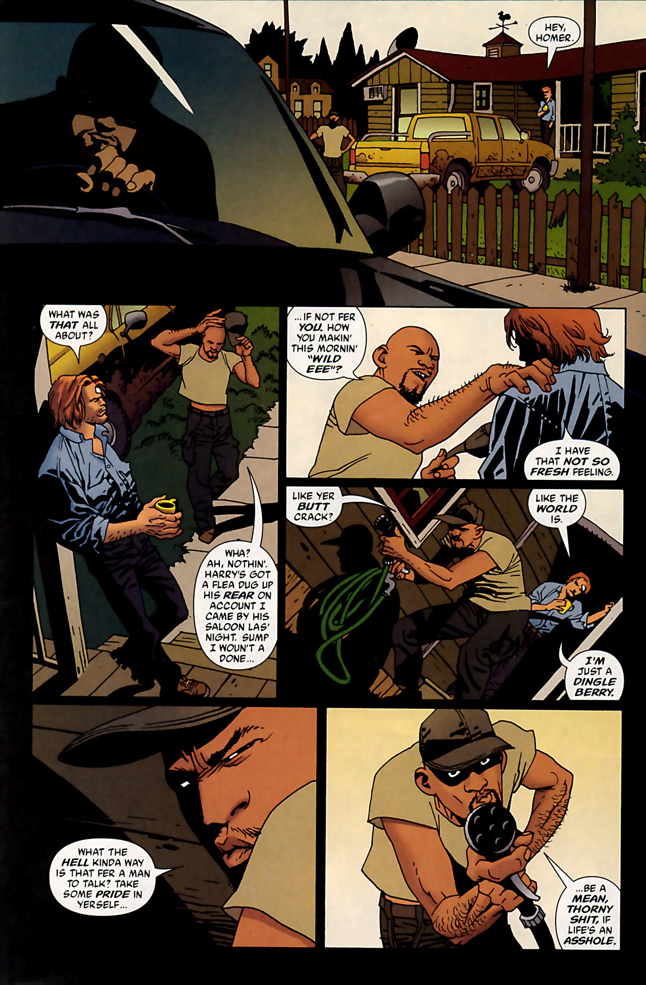 Read online 100 Bullets comic -  Issue #53 - 8