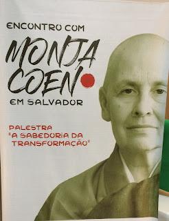 Encontro com a Monja Coen.