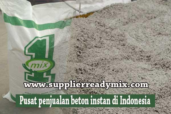Harga Beton Instan Jakarta