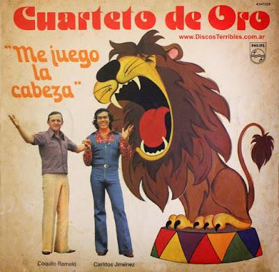 Cuarteto de Oro - Me juego la cabeza / Discos Terribles