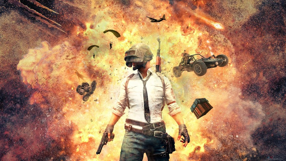 Pubg Explosion Playerunknowns Battlegrounds 4k Wallpaper 10