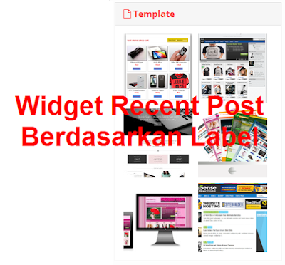 widget recent post based label paling mudah