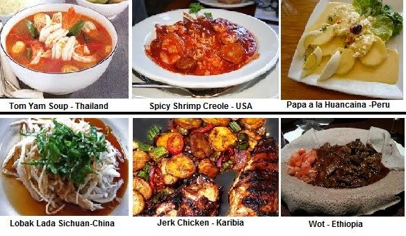 7 Makanan Terpedas di Dunia
