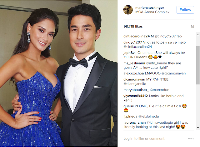 "Marlon Stockinger Still Head Over Heels For Pia Wurtzbach, Dubs Her ""Queen of the Philippines"""