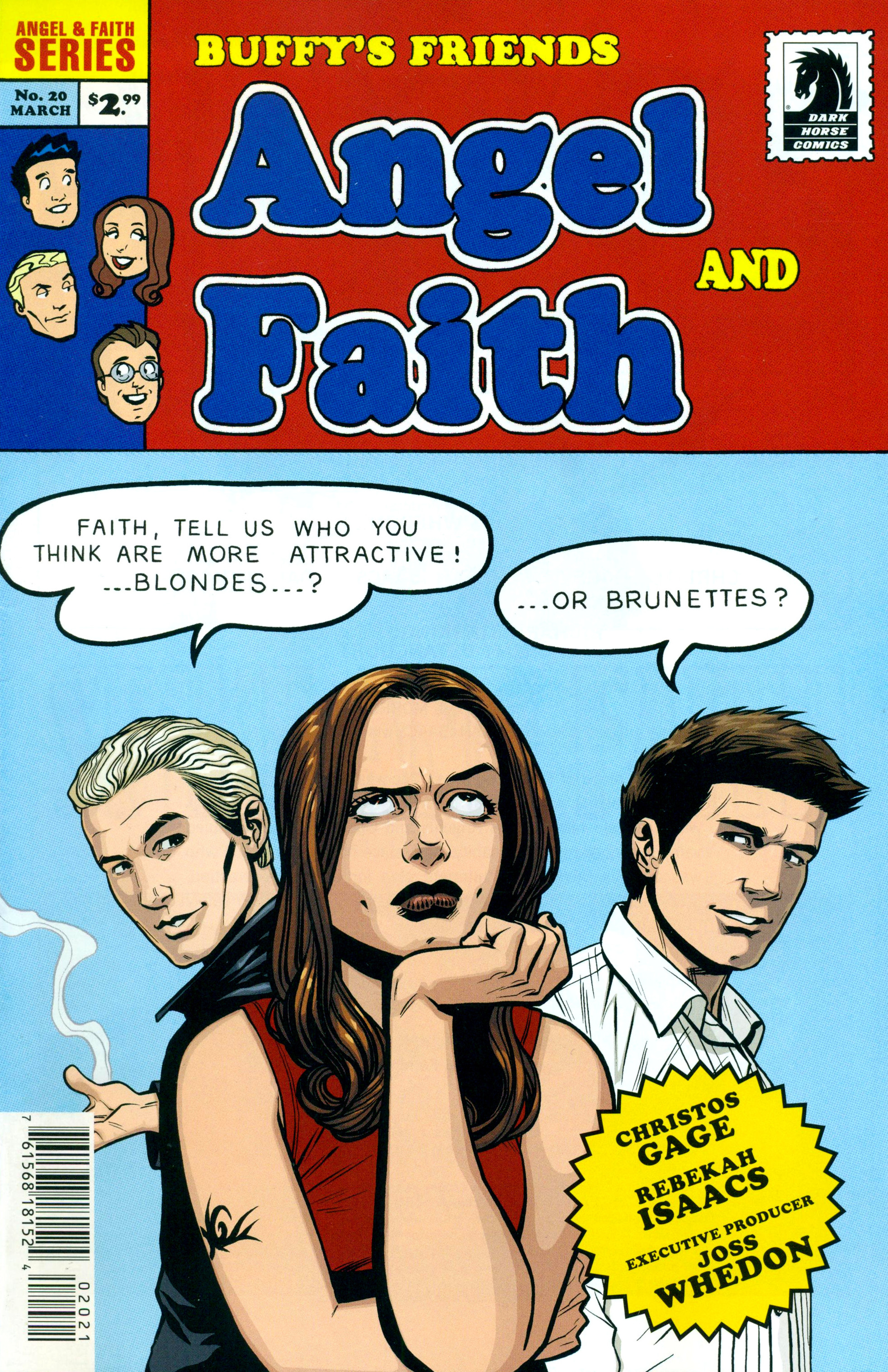 Read online Angel and Faith comic -  Issue #20 - 2