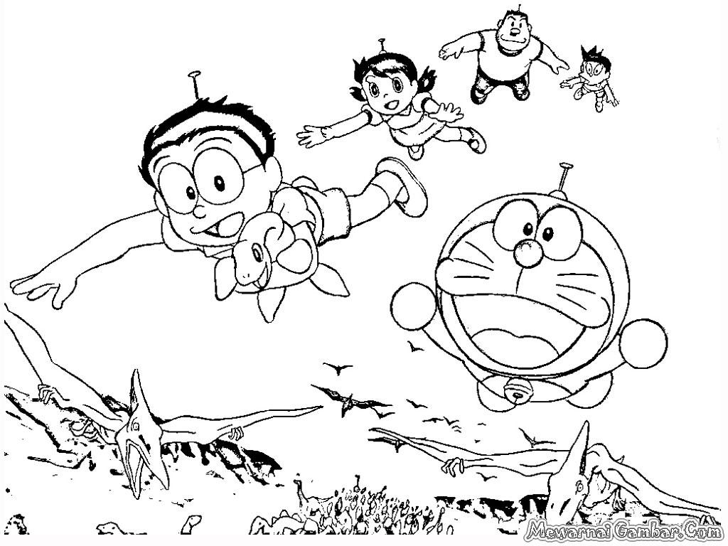 Download 5600 Koleksi Gambar Doraemon Polos Untuk Mewarnai Gratis