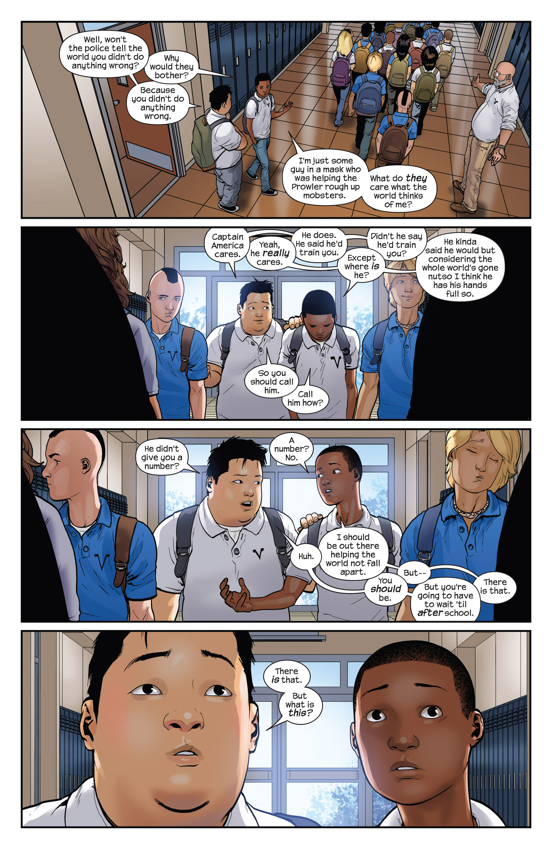 Read online Ultimate Comics Spider-Man (2011) comic -  Issue #15 - 15