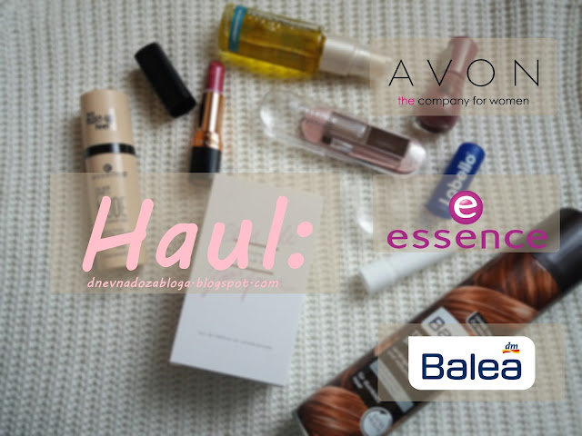 Haul, new in i recenzija proizvoda/ Balea, essence, avon 💄🎀