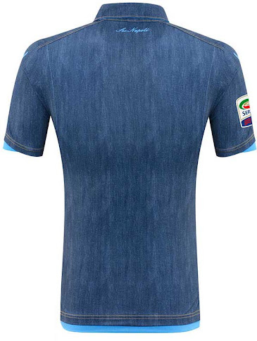 40f5e7757 This is the new  Jeans  SSC Napoli 2014-2015 Away Jersey.