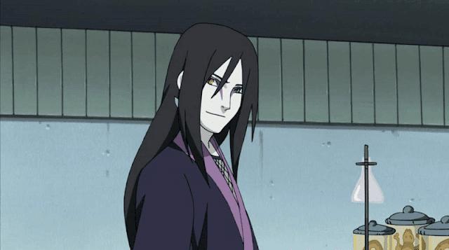 orochimaru menguasai jutsu terlarang