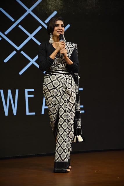 Actress Samantha HD Photos at Woven 2017 Fashion Show