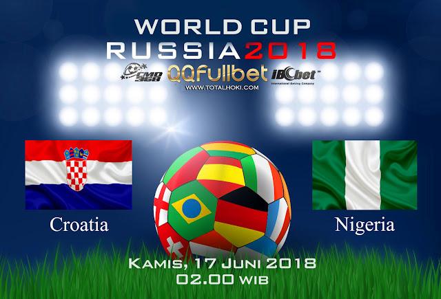 BOLA88 - PREDIKSI TARUHAN BOLA PIALA DUNIA : KROASIA VS NIGERIA ( RUSSIA WORLD CUP 2018 )