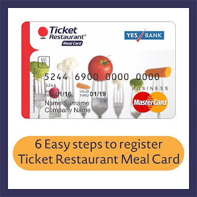 register meal card