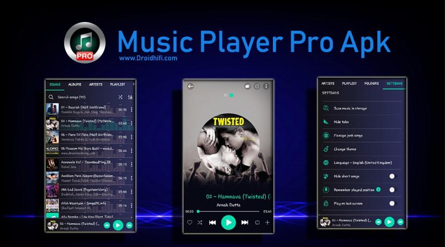Music Player Pro Apk - Latest Version 6 7 (New Update 2019